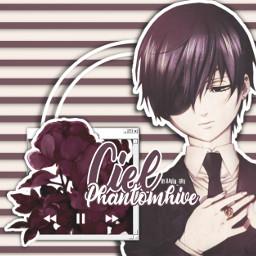 cielphantomhive anime boy japan ciel