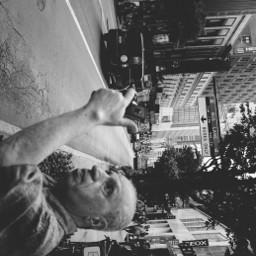 grittystreets grittystreet selfie blackandwhite b&w