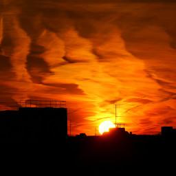 freetoedit sunrise jettrails myphoto bavaria
