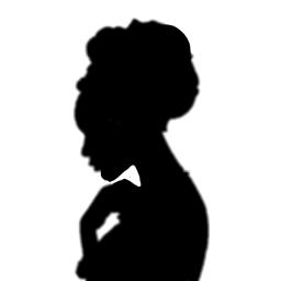 freetoedit editedwithpicsart silohuette africanwoman black