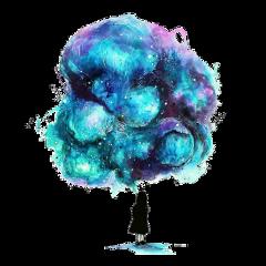 freetoedit girl galaxy stars colorful