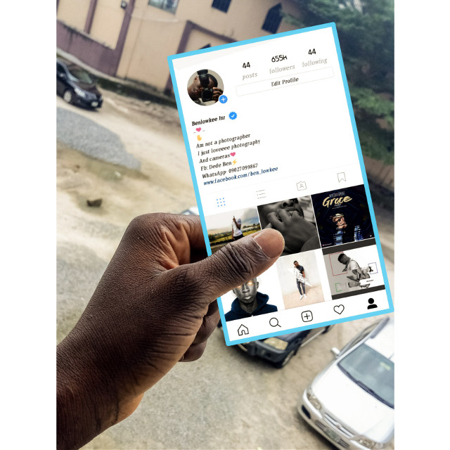My Instagram profile #freetoedit #picsartinmyhand #be_creative #picsart100million #picsart_tutorial