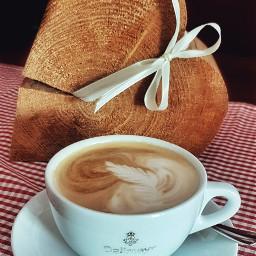 freetoedit coffee cappuccino work leaf pccoffeeshop pccoffeetime pchotdrink hotdrink