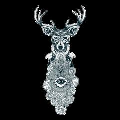 art deer spirituality designs edits