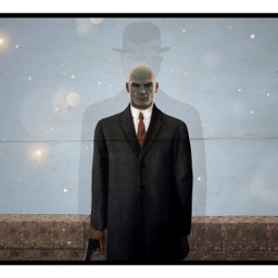 freetoedit ircfineartfriday fineartfriday hitman magritte