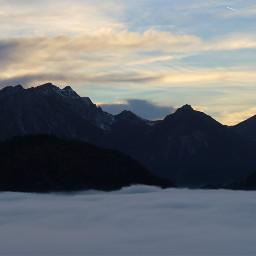 freetoedit bavaria mountains clouds alps