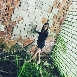 freetoedit urbex model brunette poland