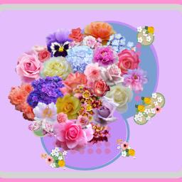 freetoedit flowers bunchofflowers pretty floral