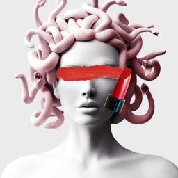 freetoedit labial rojo irclipstickday lipstickday