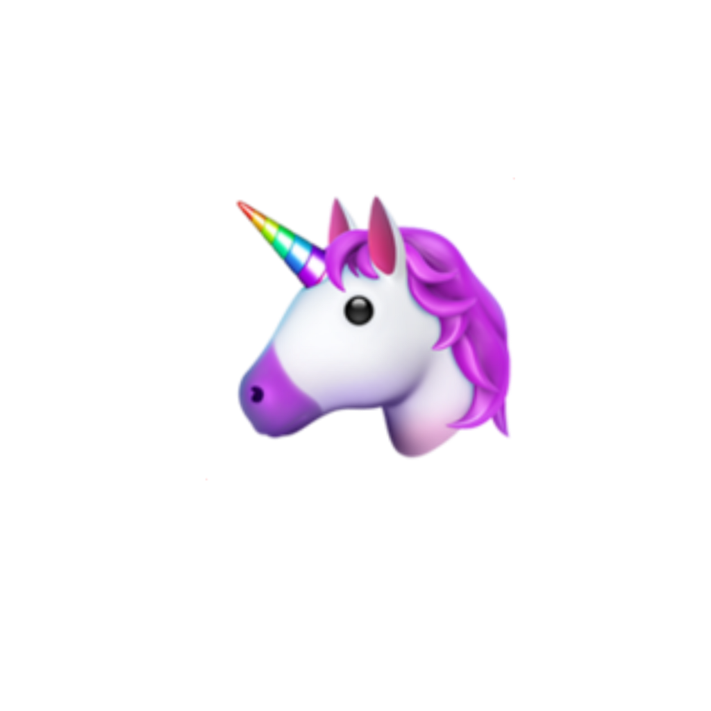 unicorn unicornemoji iphone iphoneemoji emoji iphone