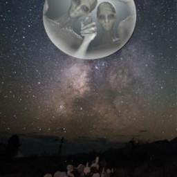 freetoedit moon sky dark