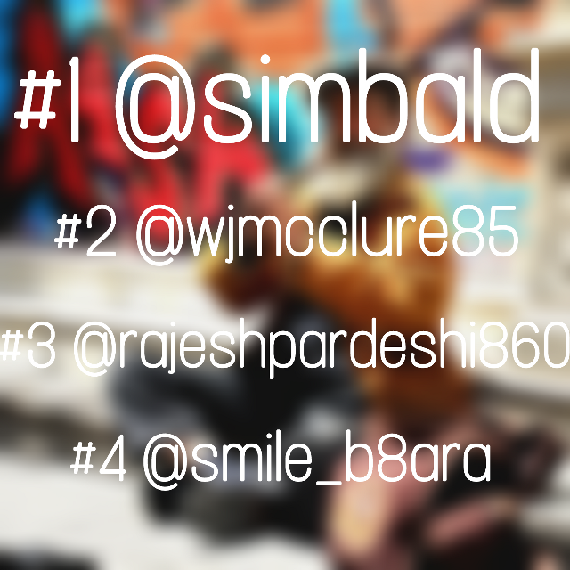 First place winners for my #pcmusic  1st place @simbald  2nd place @wjmcclure85  3rd place @rajeshpardeshi860  4th place @smile_b8ara   Thank you lovelies for participating! Go follow them!!! #freetoedit #remixit #challenge #winners
