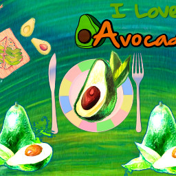 freetoedit avocadoday avocados dailyremixmechallenge watercoloreffect ircavocadoday