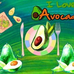 freetoedit avocadoday avocados dailyremixmechallenge watercoloreffect oilpaintingeffect vin3filter cutouttool stickerart adjusttools myart myedit madewithpicsart