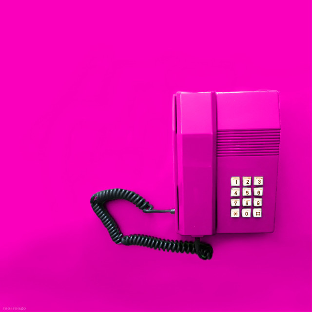 #freetoedit #retro #vintage #pink #phone #popart #vibrant #saturatedcolor