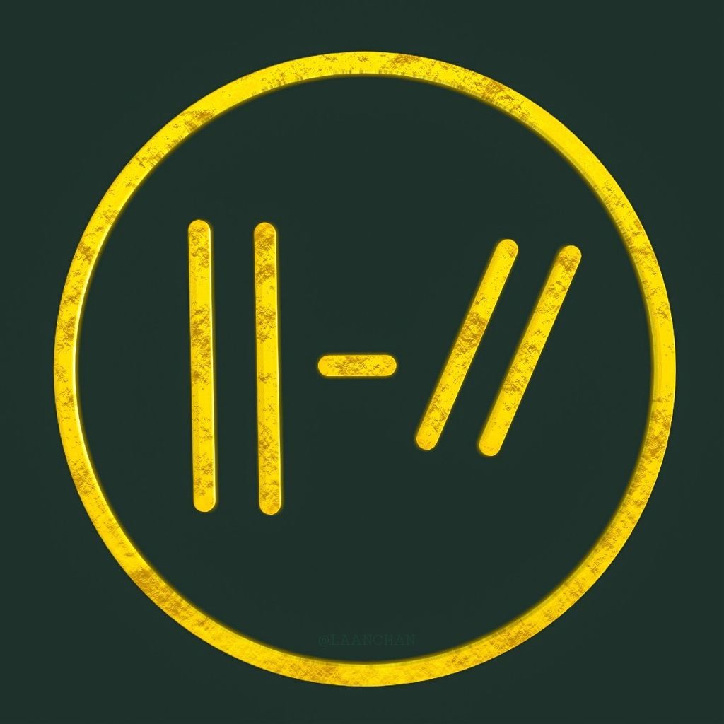���� twenty one pilots ���� edited by pixellab logo twentyo