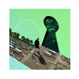 escape city nature walk collageporn