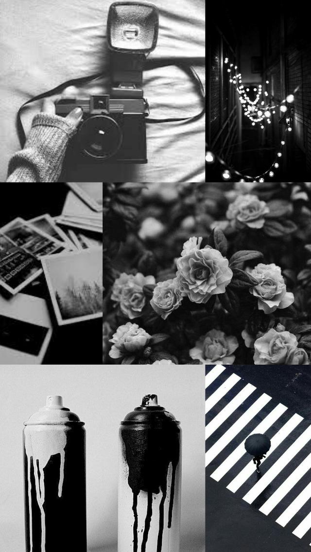 Black and white #collage #black #white #feeds