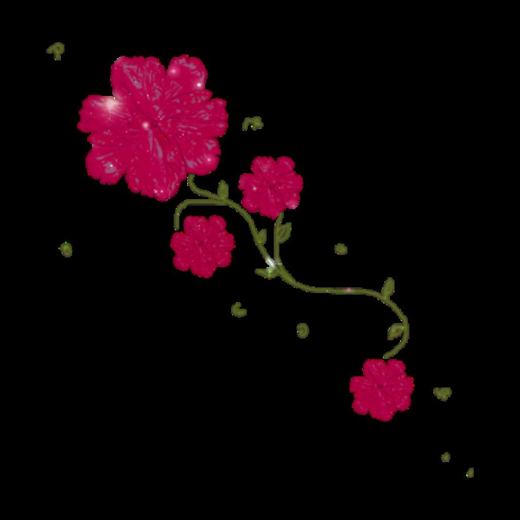 Flower Flowers Pink Glitter Garden Gardening Decorate