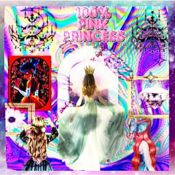 freetoedit 100%princesspink princessforever💖 100 princessforever