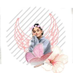 maggielindeman pink angel edit fanedit freetoedit