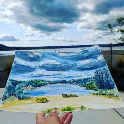 watercolorpainting enpleinair