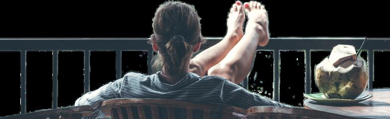freetoedit girl lifestyle balcony relaxation
