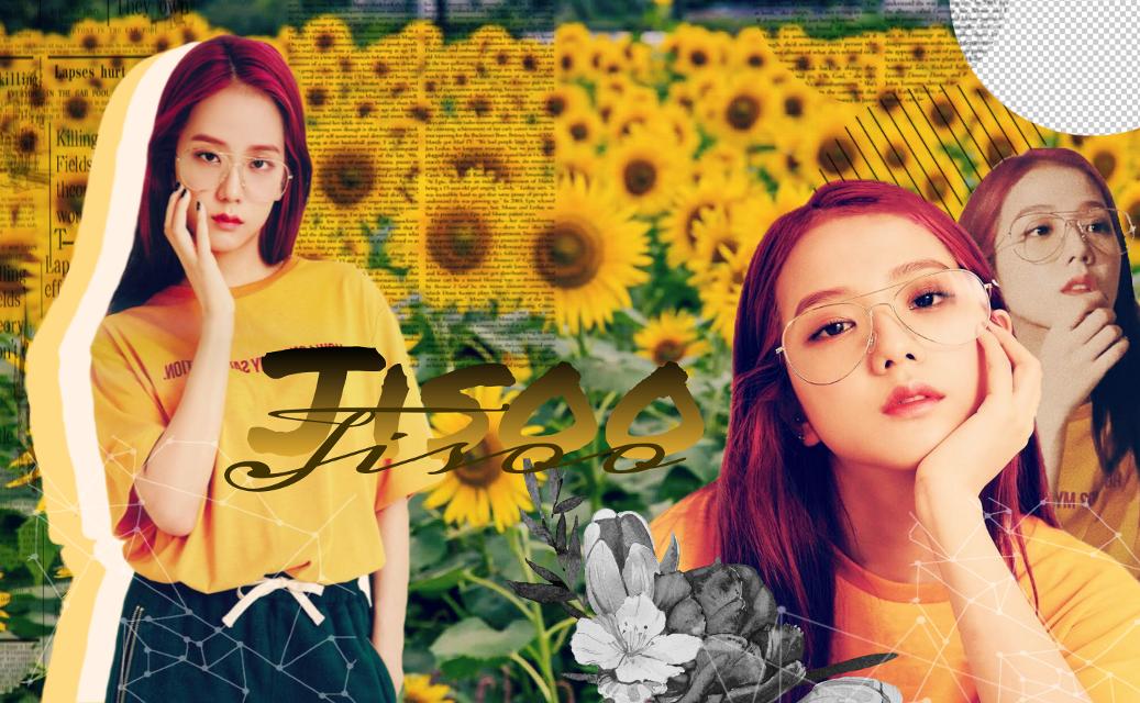 #blackpinkjisoo #jisoo #kpopedit #yellow #tumblr