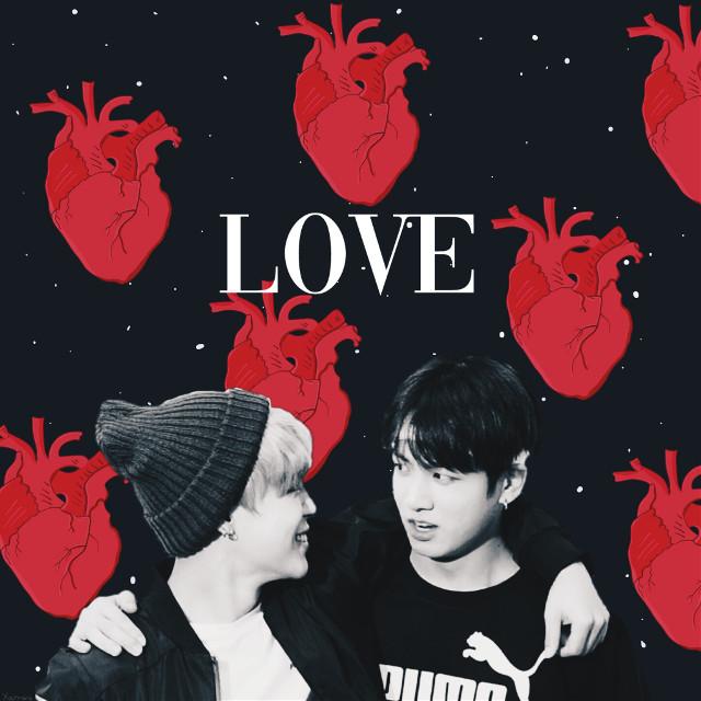 #myedit#love#jikook#jikookisreal #jimin#jungkook#btsship#mochiandnochu#parkjimin#jeonjungkook#cute#black#red#hearts#background #tumblr#aeathetic