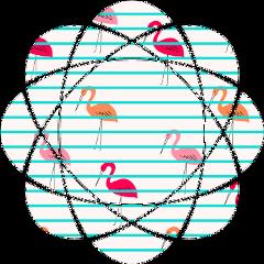 shapemask shapemaskstiker happystiker flamingosticker freetoedit