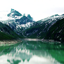 mountain lake greenmagiceffect myphoto myedit freetoedit