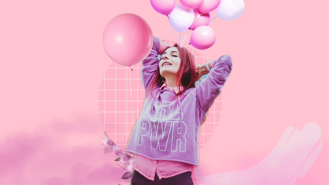 #freetoedit #balloon #pink