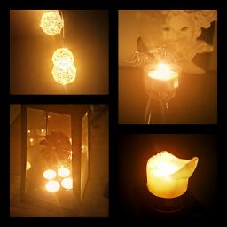 lights candles lamplight border fxeffect