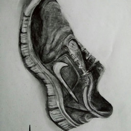 pencil pencilart pencildrawing blackandwhite shoesoftheday
