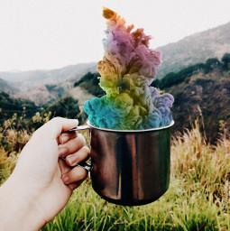 freetoedit cup colorfulsmoke