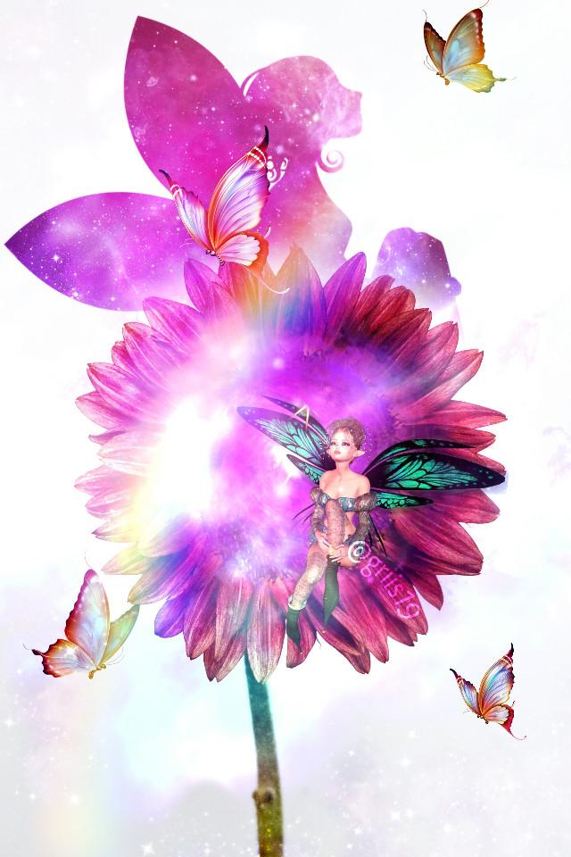 #freetoedit #Hadas #mariposas