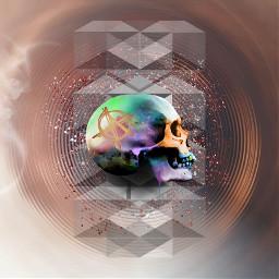 skullhead skullart holyfire photographyart photoediting