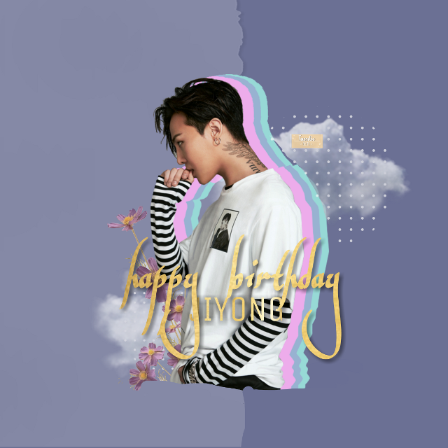 Happy late birthday to what I can really call more than an idol at thus point. He is an inspiration  and role model to about everyone in the Kpop industry or just a fan and we can all agree that this man is amazing and talented. STAY GOLD JIYONG. Here is a quick edit for the king.   _____  Sticker credits:  Jiyong-hobisangelic Clouds-killedrose  Dotted circle-acoffeetea  Paper-qouotesforlife  Flowers-Sona75   _____  #happybiryhdayjiyong #gdragon #kwonjiyong #bigbang #bigbanggdragon #gdragonedits #bugbangedits #jiyong #taexotic