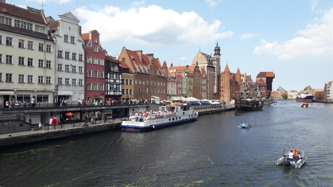 Gdańsk  #holiday #holidayphoto #polandfotography #beautiful #trip #sea #boat #ship #architecture 🌁⚓🚢⛴   #freetoedit