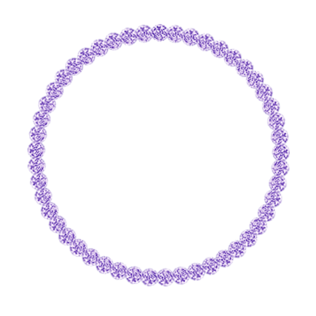 mq purple round frame frames border borders...