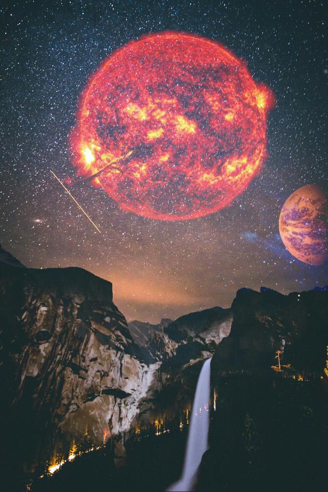 #freetoedit #sky #stars #planets #galaxy #sun #nature #photography #night #people #like #amazing #edit #art #creative #city #picsart #picture #picoftheday
