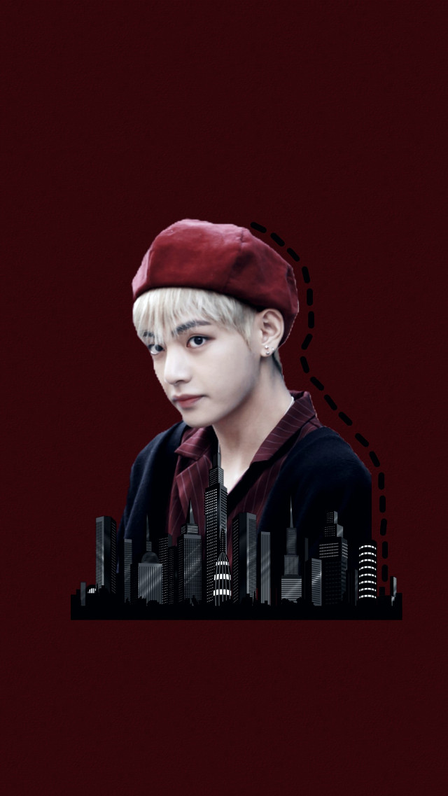 taehyung wallpapers  #freetoedit #red #wallapers #bts #taehyung #taetae #btswallapers #v