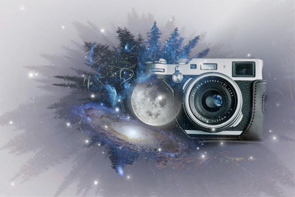 #freetoedit #doubleexposure #lifeonthemoon #imagination #camera #galaxy #moon Op @freetoedit @tappy7