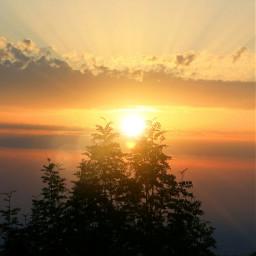 freetoedit riflesso tramonto sky italy eclensflare