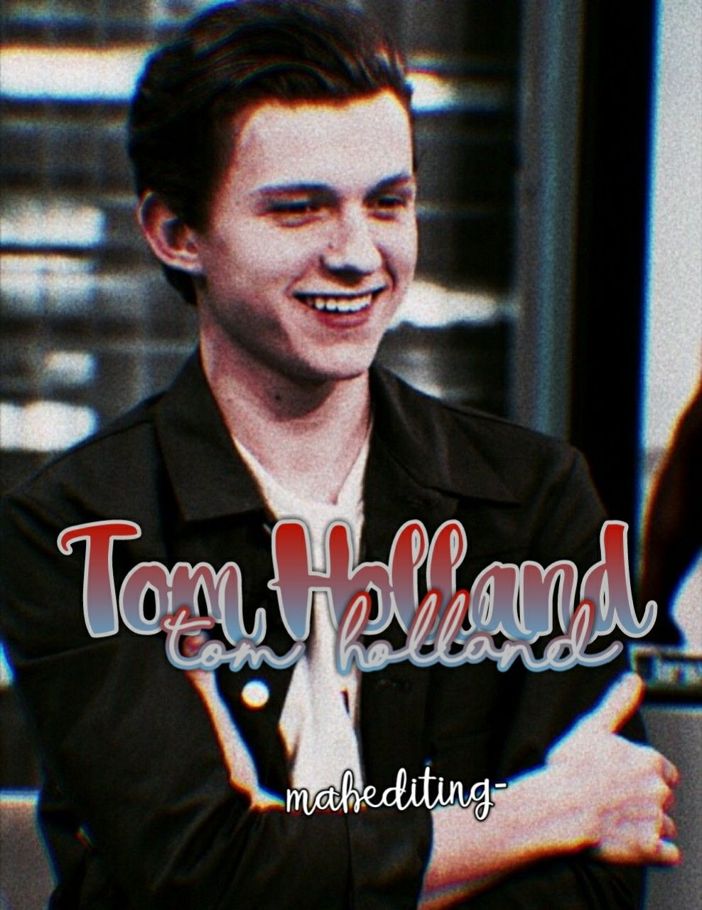 Crush Tomholland Tom Holland Icon Marvel Peterparker