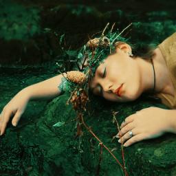 model fairytale romantic ethereal modeling