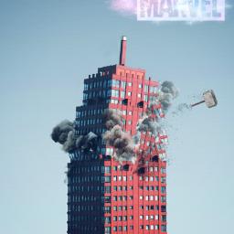 freetoedit building hammer thorhammer marvel