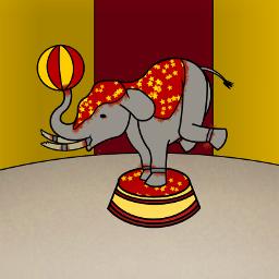 freetoedit elephant circus dccircus mydrawing dccircuses