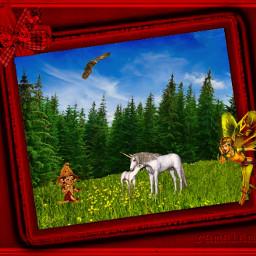 myedit myinspiration background frame fairy