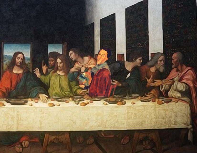 #freetoedit #lastsupper #jesus